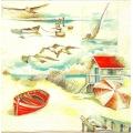 """Салфетка для декупажа """"Морской ветерок"""", 33х33 см, Германия"""