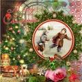 """Салфетка для декупажа HF3331077 """"С Рождеством!"""", 33х33 см, Германия"""