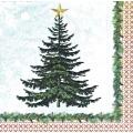 """Салфетка для декупажа HF3331709 """"Рождественская ёлка"""", 33х33 см, Германия"""
