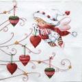 """Салфетка для декупажа """"Рождественская фея"""", 33х33 см, Германия"""