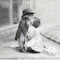 "Салфетка для декупажа SVD86000 ""Поцелуй"", 25х25 см, Sagen Vintage Design, Норвегия"