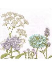 """Салфетка для декупажа """"Ботаника"""", 33х33 см, Nuova R2S (Италия)"""