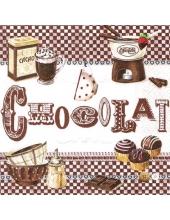 """Салфетка для декупажа """"Шоколад"""", 33х33 см, Nuova R2S (Италия)"""