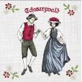 "Салфетка для декупажа ""Танец"", 33х33 см, Германия"