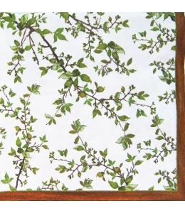 """Салфетка для декупажа """"Ветки дерева"""", 33х33 см, Nuova R2S (Италия)"""