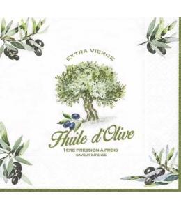 "Салфетка для декупажа ""Оливковое дерево"", 33х33 см, Nuova R2S (Италия)"