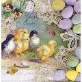 """Салфетка для декупажа """"Пасхальная открытка"""", 33х33 см, Германия"""