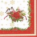 """Салфетка для декупажа """"Дух Рождества"""", 33х33 см, Nuova R2S (Италия)"""