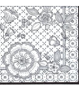 "Салфетка для декупажа ""Городской шик"", 33х33 см, Nuova R2S (Италия)"