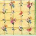 """Салфетка для декупажа """"Цветочный калейдоскоп"""", 33х33 см, POL-MAK"""