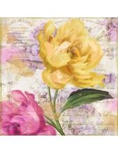 "Салфетка для декупажа ""Тюльпаны"", 33х33 см, Германия"