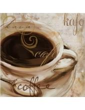 "Салфетка для декупажа ""Чашечка кофе"", 33х33 см, Германия"