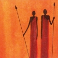"Салфетка для декупажа, TF346080, ""Традиции масаев"", 33х33 см, Германия"