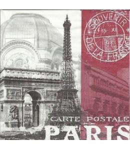 "Салфетка для декупажа ""Париж"", 33х33 см, Германия"