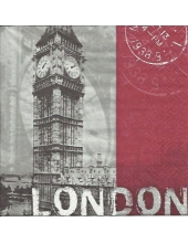 "Салфетка для декупажа ""Лондон"", 33х33 см, Германия"