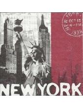 "Салфетка для декупажа ""Нью Йорк"", 33х33 см, Германия"