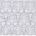 "Салфетка для декупажа ""Орнамент дамасский серебро"", 33х33 см, Германия"