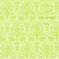 """Салфетка для декупажа """"Орнамент дамасский зеленый"""", 33х33 см, Германия"""