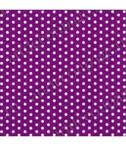 """Салфетка для декупажа """"Белый горох на лиловом фоне"""", 33х33 см, Германия"""