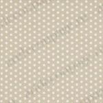 """Салфетка для декупажа """"Белый горох на бежевом фоне"""", 33х33 см, Германия"""
