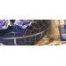 Паста объемная с блестками Viva Glitter Paste, цвет 604 темно-синий, 90 мл