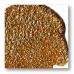 Паста объемная с блестками Viva Glitter Paste, цвет 202 янтарь, 90 мл