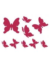"""Трафарет пластиковый для росписи KSD015 """"Бабочки"""", 15х20 см, Stamperia (Италия)"""