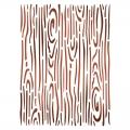 """Трафарет пластиковый для росписи KSD287 """"Эффект дерева"""", 15х20 см, Stamperia (Италия)"""