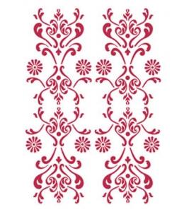 "Трафарет пластиковый KSG259 ""Орнамент"", 21х29,7 см, Stamperia"