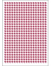 "Трафарет пластиковый KSG294 ""Узор гусиные лапки"", 21х29,7 см, Stamperia"