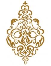 "Трафарет пластиковый KSG343 ""Классический узор"", 21х29,7 см, Stamperia (Италия)"