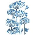 "Трафарет пластиковый KSG346 ""Одуванчики"", 21х29,7 см, Stamperia (Италия)"