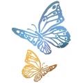 "Трафарет пластиковый KSG347 ""Две бабочки"", 21х29,7 см, Stamperia (Италия)"