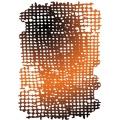"Трафарет объемный KSTD011 ""Рваные соты"", толщина 0,5 мм, размер 20х25 см, Stamperia"