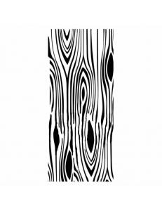 """Трафарет объемный """"Текстура дерева"""", толщина 0,25 мм, 12х25 см, Stamperia KSTDL16"""