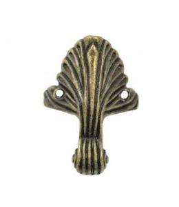 Ножки для шкатулок 43х32 мм, цвет античная бронза, 4 штуки