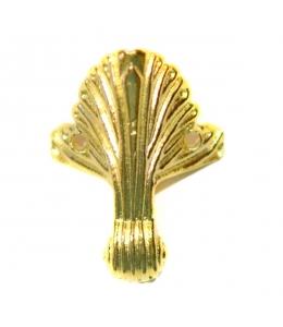 Ножки для шкатулок 43х32 мм, цвет золото, 4 штуки