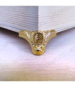 Ножки для шкатулок 20х18 мм, цвет золото, 4 штуки