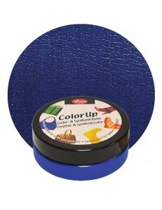 Краска для кожи и синтетики Color up Темно синий 50мл, Viva Decor Германия