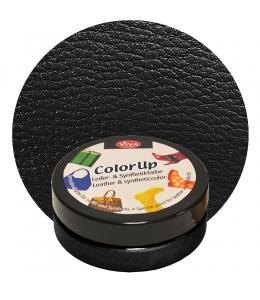 Краска для кожи и синтетики Color up Ченый 50мл, Viva Decor Германия