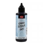 Гель-контур с эффектом стекла Viva-Glaseffekt-Gel, цвет 800 черный, 82 мл