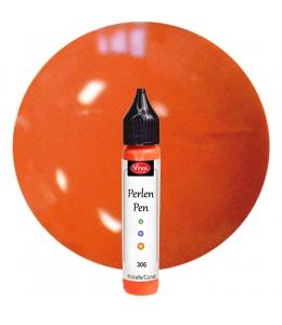 Краска для создания жемчужин Viva Perlen Pen, цвет 306 коралл, 25 мл