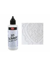"""Паста контур с эффектом снега """"3D Schnee"""", 82 мл, Viva Decor"""