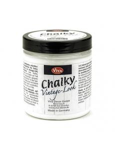 Краска меловая Chalky Vintage-Look, цвет 100 белый, 250мл, Viva Decor (Германия)