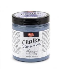 Краска меловая Chalky Vintage-Look, цвет 603 дымчато-голубой, 250мл, Viva Decor (Германия)