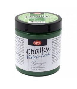 Краска меловая Chalky Vintage-Look, цвет 705 зеленый, 250мл, Viva Decor (Германия)