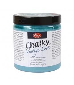 Краска меловая Chalky Vintage-Look, цвет 706 петрол, 250мл, Viva Decor (Германия)