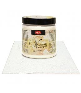 Краска-паста с эффектом венецианской штукатурки Viva Venezia 101 состаренный белый, 250 мл