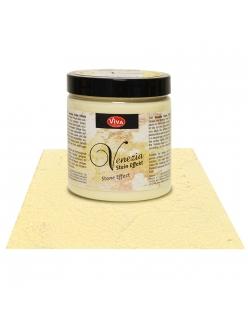 Краска-паста с эффектом венецианской штукатурки Venezia 102 кремовый, 250 мл, Viva Decor