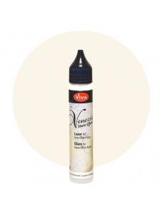 Глазурь для краски-пасты с эффектом венецианской штукатурки Viva-Venezia-Lasur 100 кремовый, 28 мл